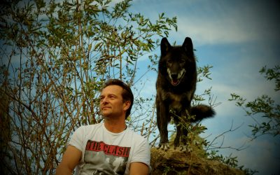 David Hallyday a fréquenté les loups pour son dernier clip