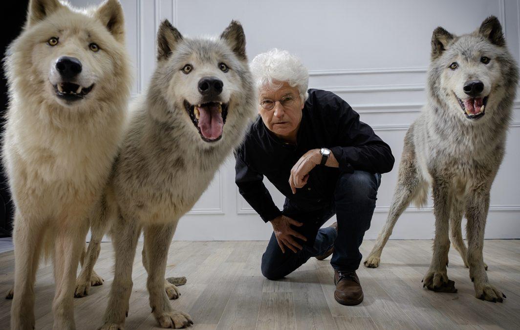 Jean Jacques Annaud et les loups de Fauna et Films